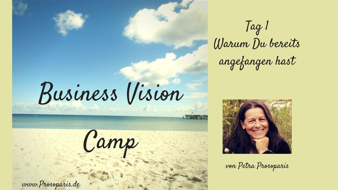 Geschützt: Tag 1 Business Vision Camp: Warum Du bereits angefangen hast
