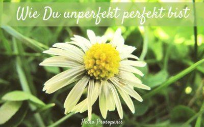 Wie Du unperfekt perfekt bist