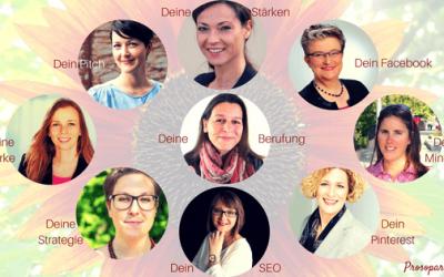 9 kostenlose Erfolgs-Zutaten für Dein Herzensbusiness von 9 starken Business-Gestalterinnen