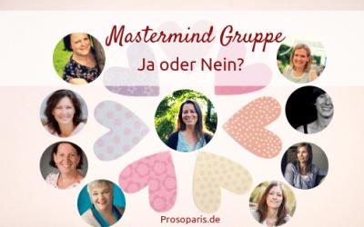 Erfahrungen mit Mastermind Gruppen – selbständige Frauen