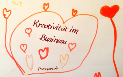 Wie es Dir leicht gelingt, Deine Kreativität im Business zu fördern
